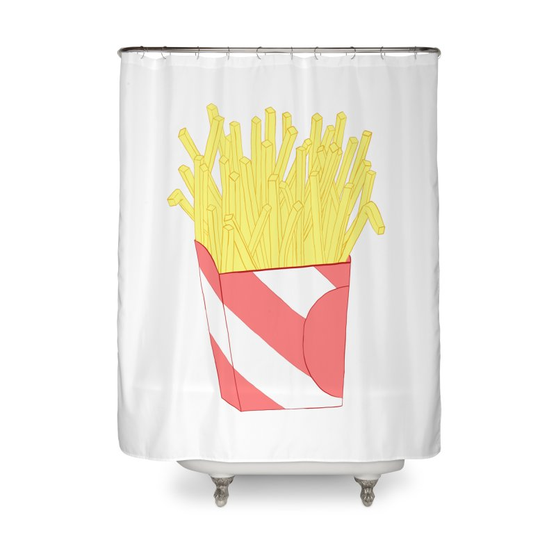 Fries Home Shower Curtain by Hello Siyi
