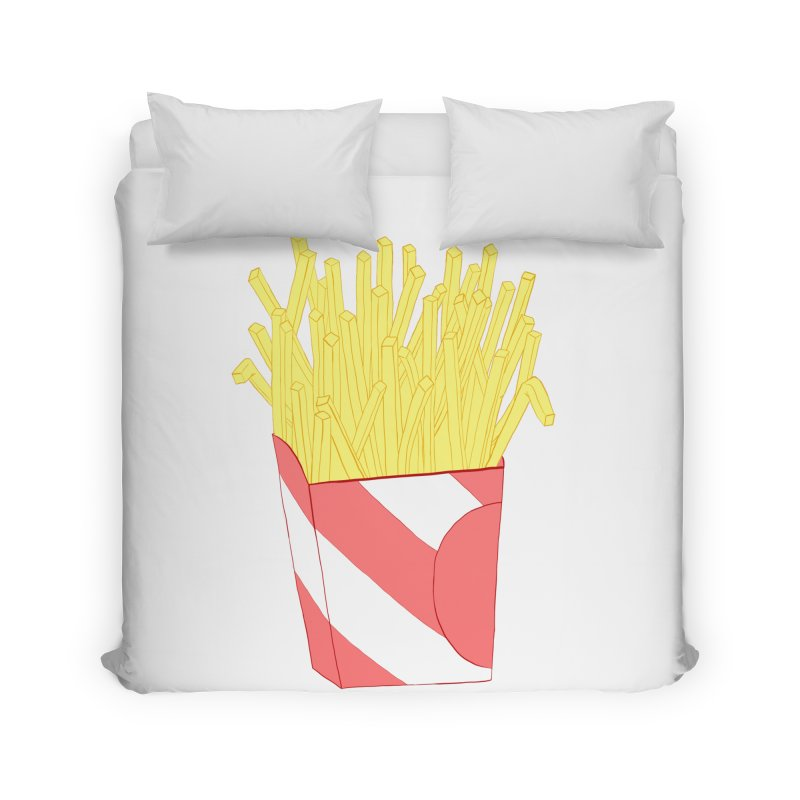 Fries Home Duvet by Hello Siyi