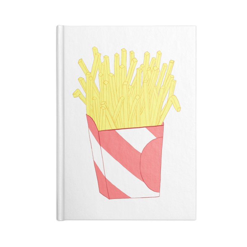 Fries Accessories Blank Journal Notebook by Hello Siyi