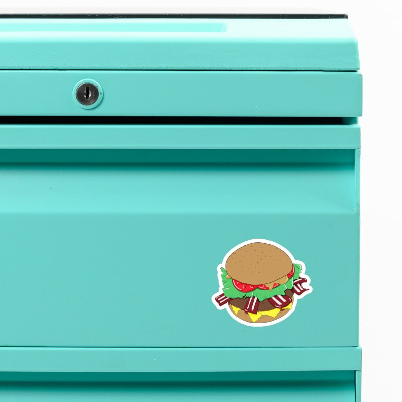 Burger Accessories Magnet by Hello Siyi