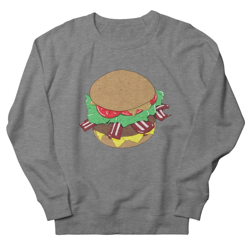 Burger Men's French Terry Sweatshirt by Hello Siyi