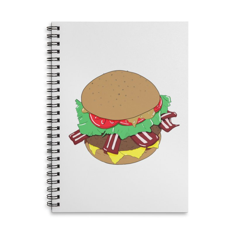Burger Accessories Notebook by Hello Siyi