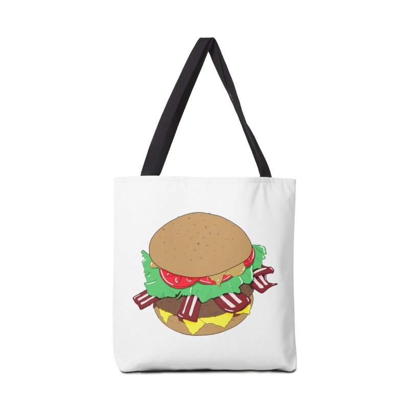 Burger Accessories Tote Bag Bag by Hello Siyi