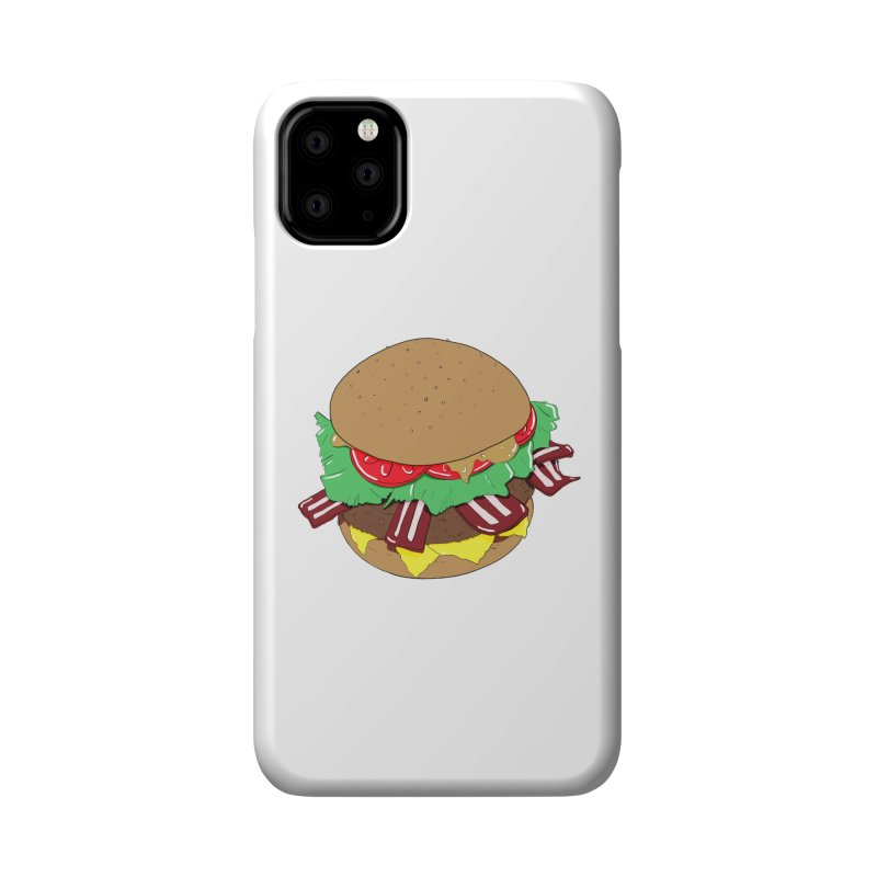 Burger Accessories Phone Case by Hello Siyi