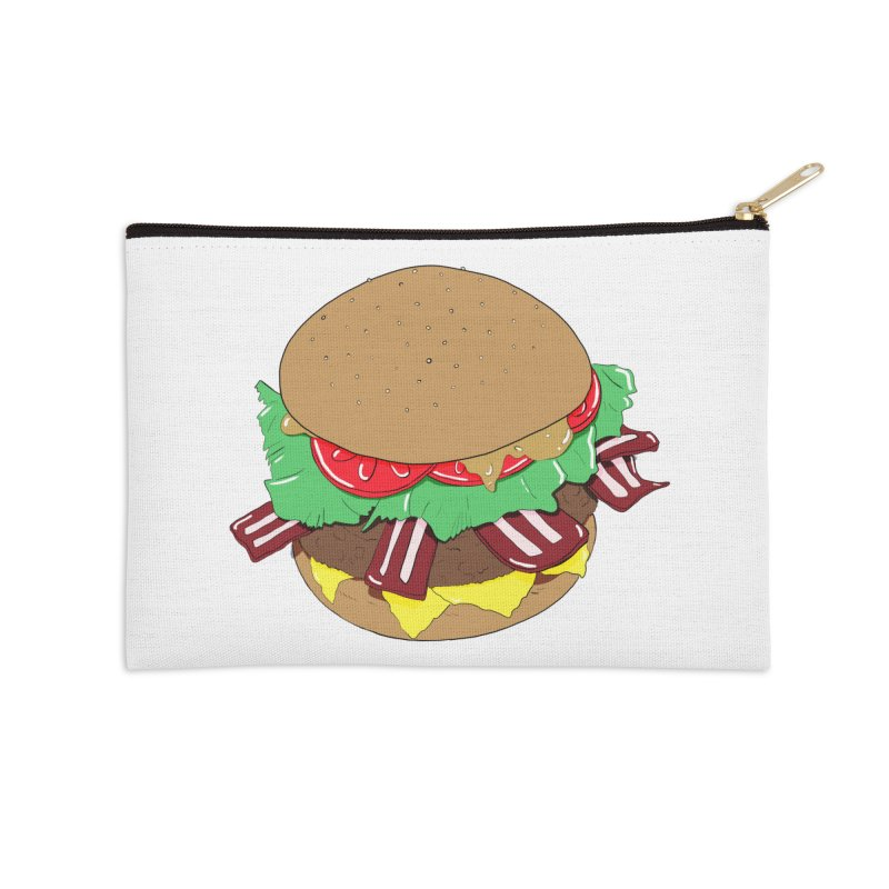 Burger Accessories Zip Pouch by Hello Siyi