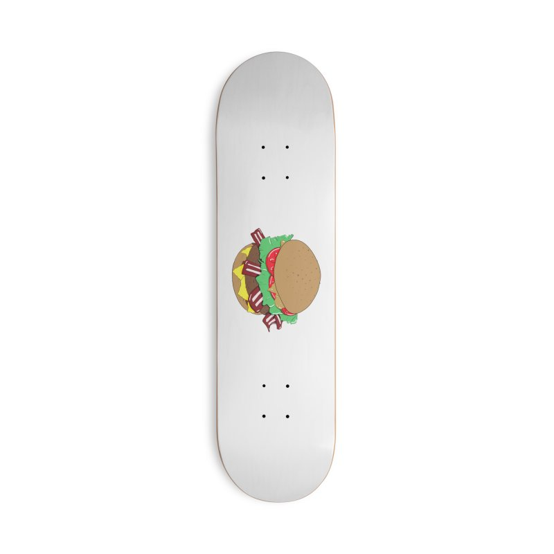 Burger Accessories Deck Only Skateboard by Hello Siyi