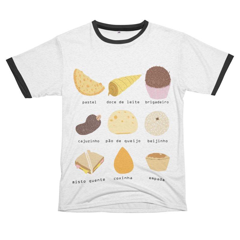 Brazilian snacks Women's Unisex French Terry T-Shirt Cut & Sew by Hello Siyi