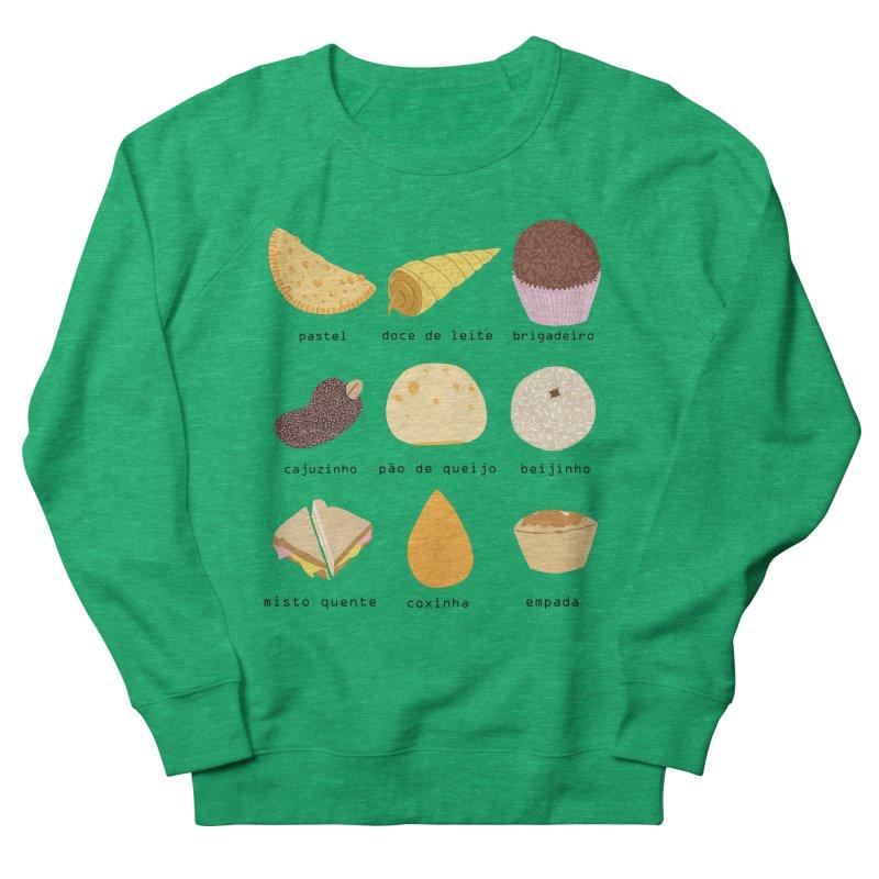 Brazilian snacks Men's French Terry Sweatshirt by Hello Siyi