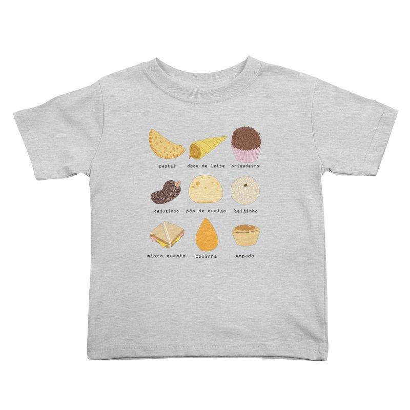 Brazilian snacks Kids Toddler T-Shirt by Hello Siyi