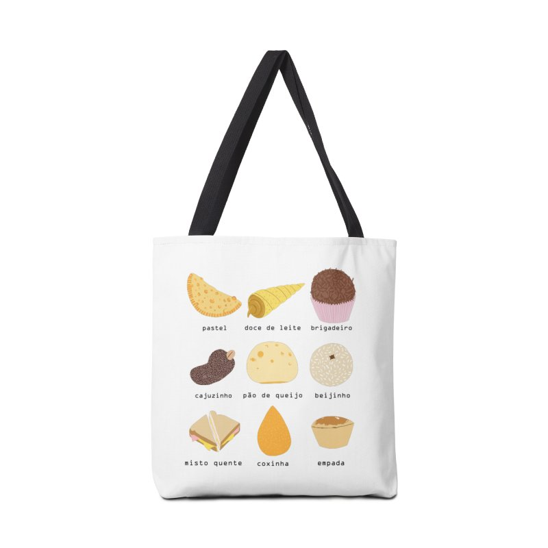 Brazilian snacks Accessories Tote Bag Bag by Hello Siyi