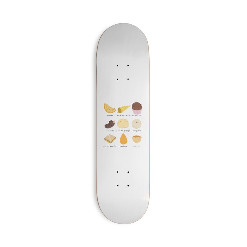 Brazilian snacks Accessories Deck Only Skateboard by Hello Siyi