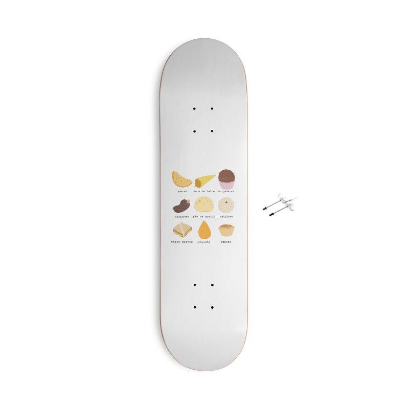 Brazilian snacks Accessories Skateboard by Hello Siyi