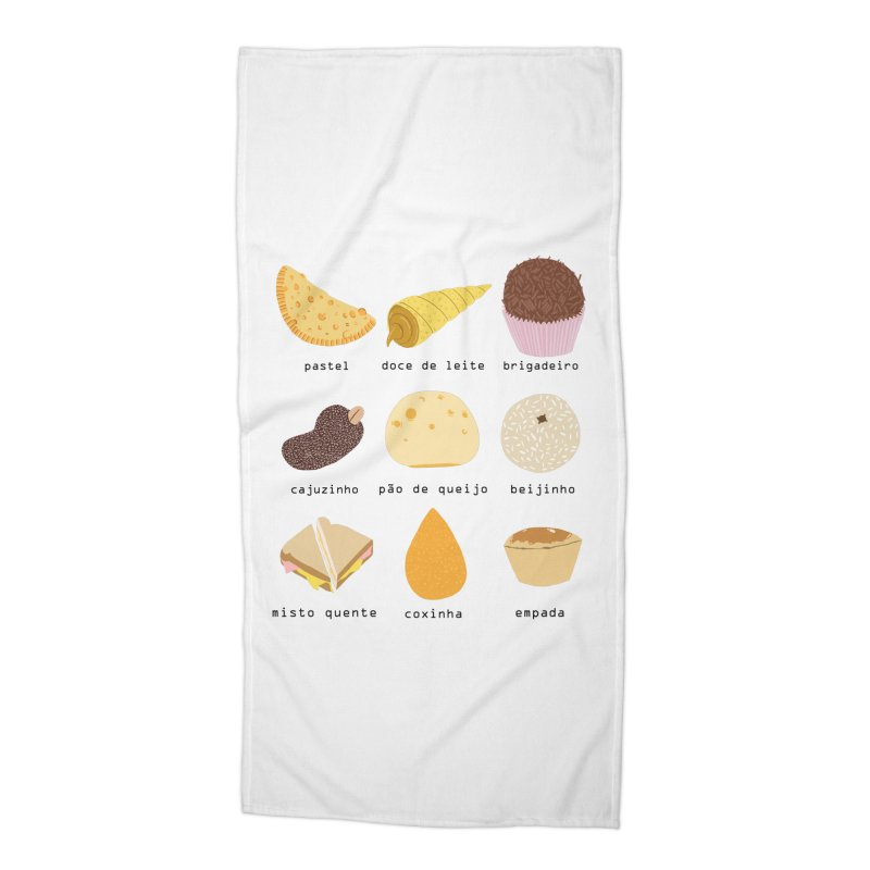 Brazilian snacks Accessories Beach Towel by Hello Siyi