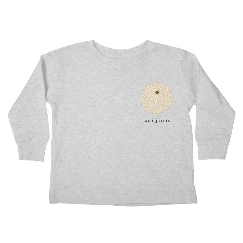 Beijinho - Brazilian snack (pocket) Kids Toddler Longsleeve T-Shirt by Hello Siyi