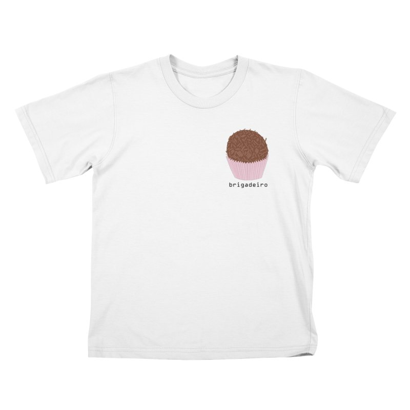 Brigadeiro - Brazilian snack (pocket) Kids T-Shirt by Hello Siyi