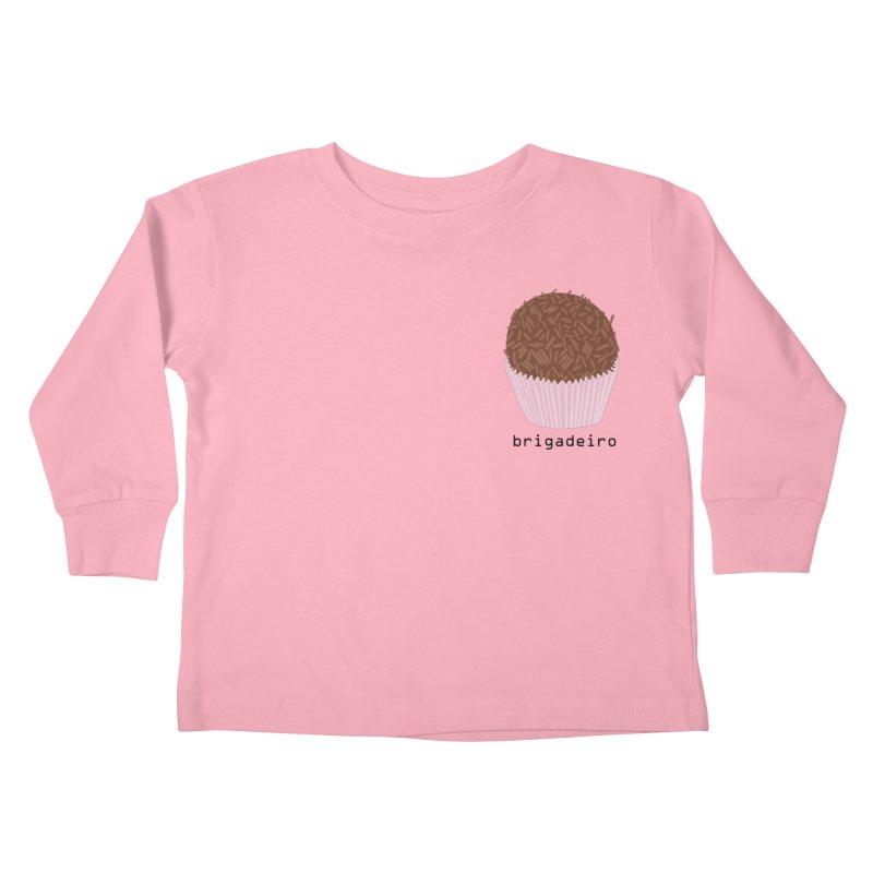 Brigadeiro - Brazilian snack (pocket) Kids Toddler Longsleeve T-Shirt by Hello Siyi
