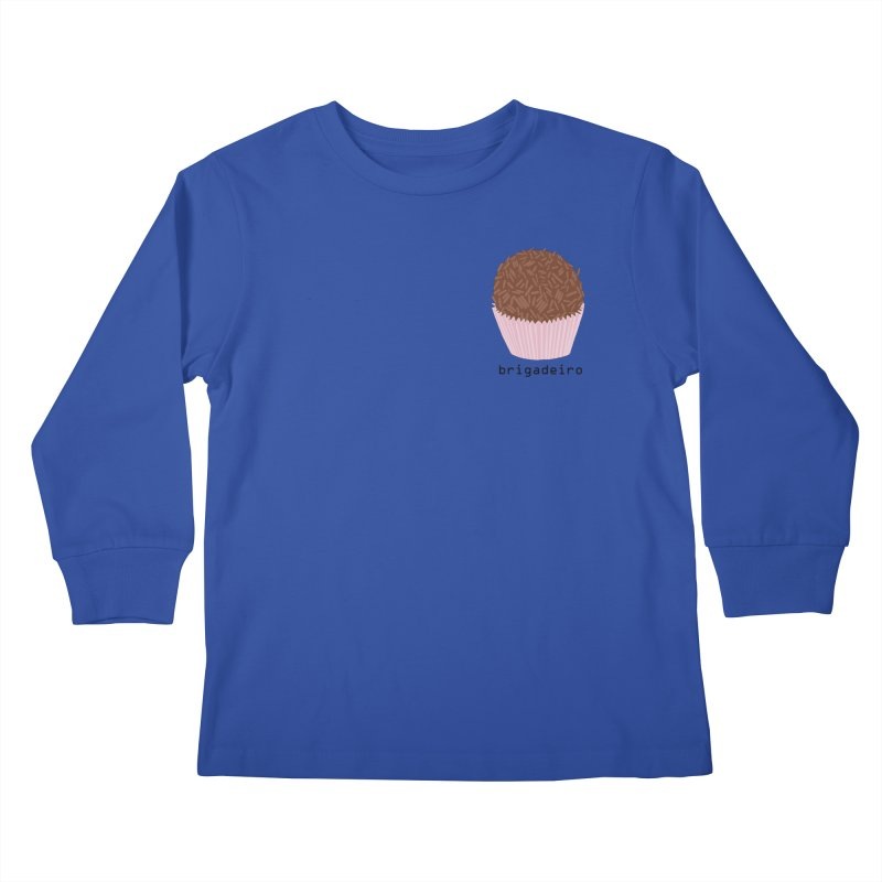 Brigadeiro - Brazilian snack (pocket) Kids Longsleeve T-Shirt by Hello Siyi
