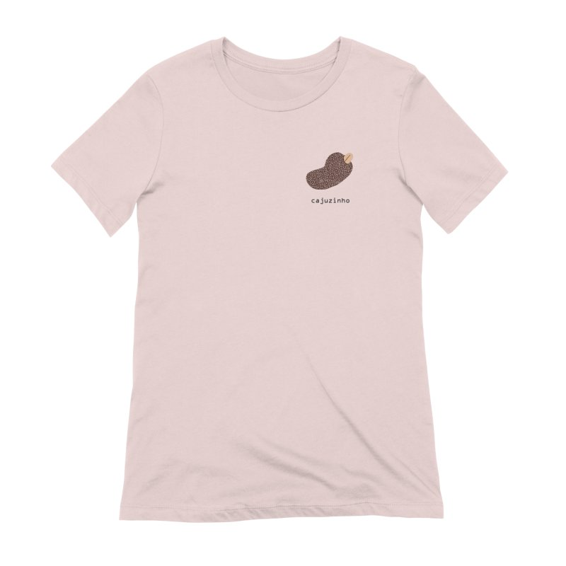 Cajuzinho - Brazilian snack (pocket) Women's Extra Soft T-Shirt by Hello Siyi