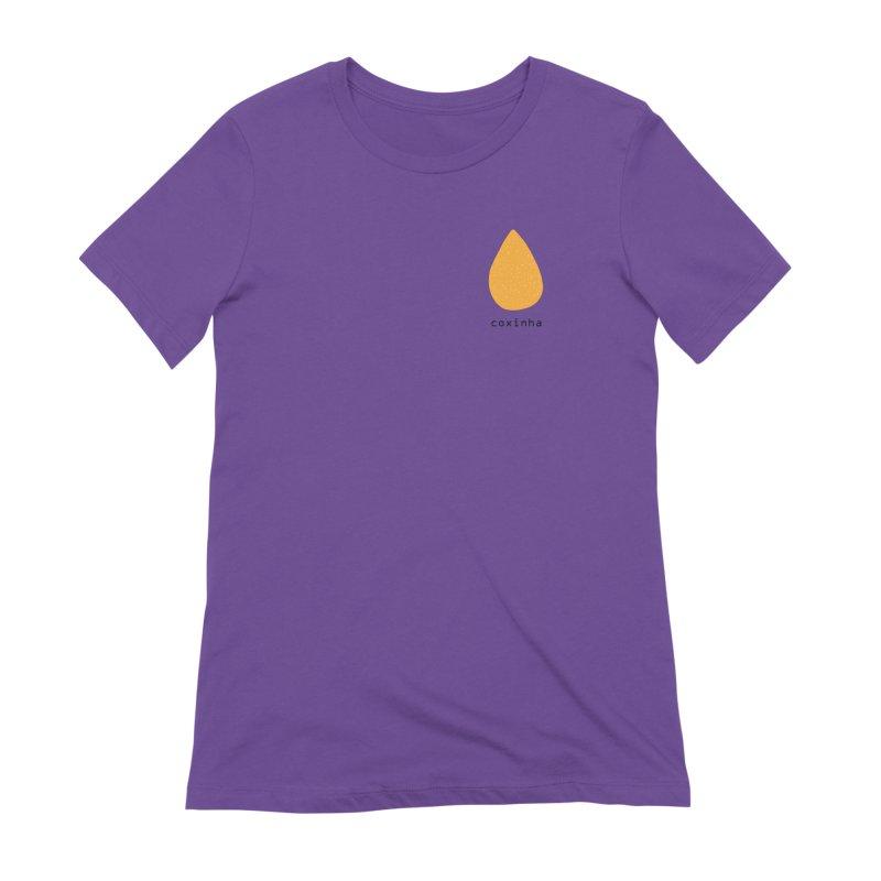 Coxinha - Brazilian snack (pocket) Women's Extra Soft T-Shirt by Hello Siyi