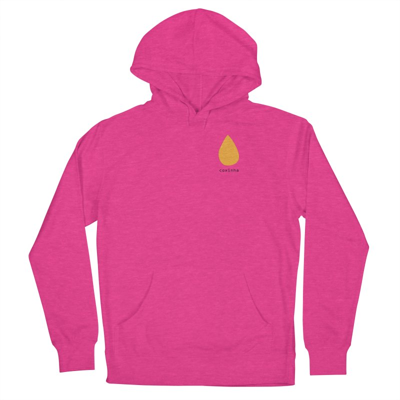 Coxinha - Brazilian snack (pocket) Men's French Terry Pullover Hoody by Hello Siyi
