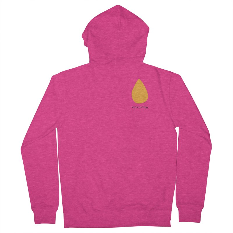 Coxinha - Brazilian snack (pocket) Women's French Terry Zip-Up Hoody by Hello Siyi