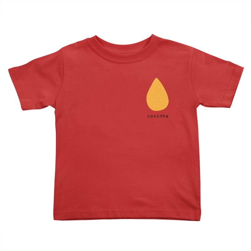Coxinha - Brazilian snack (pocket) Kids Toddler T-Shirt by Hello Siyi