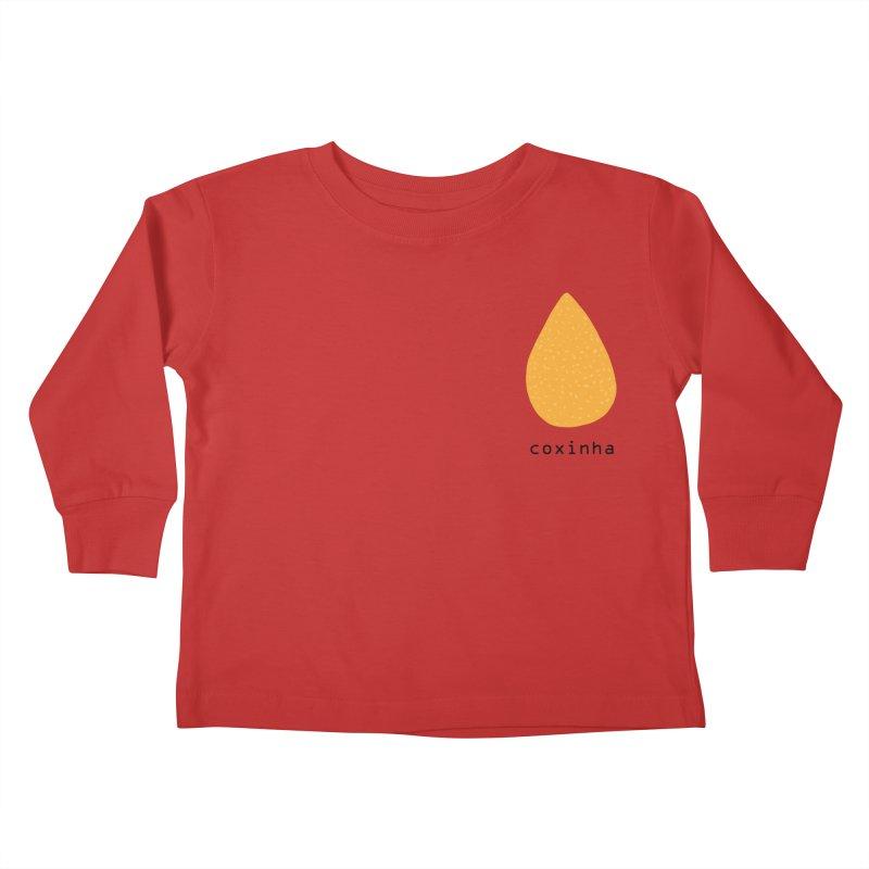 Coxinha - Brazilian snack (pocket) Kids Toddler Longsleeve T-Shirt by Hello Siyi