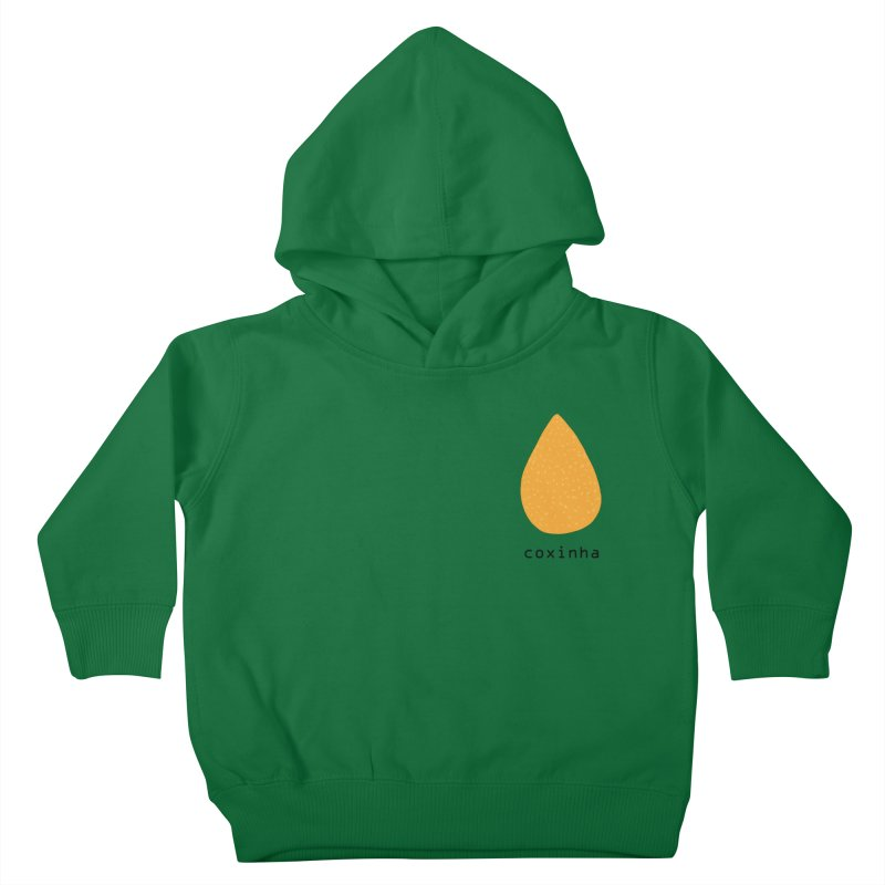 Coxinha - Brazilian snack (pocket) Kids Toddler Pullover Hoody by Hello Siyi