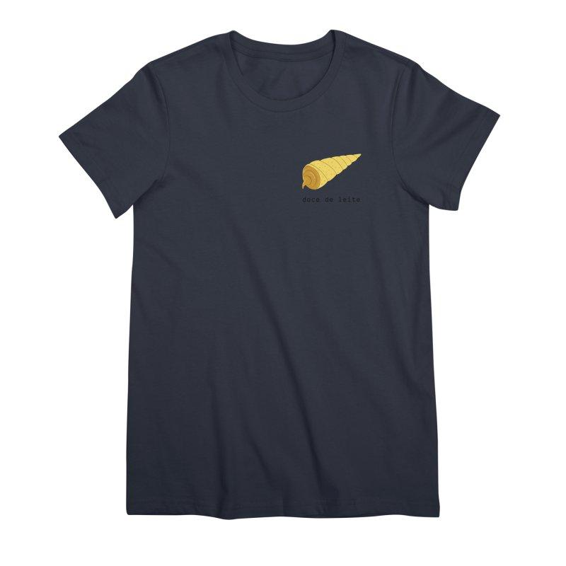 Doce de leite - Brazilian snack (pocket) Women's Premium T-Shirt by Hello Siyi