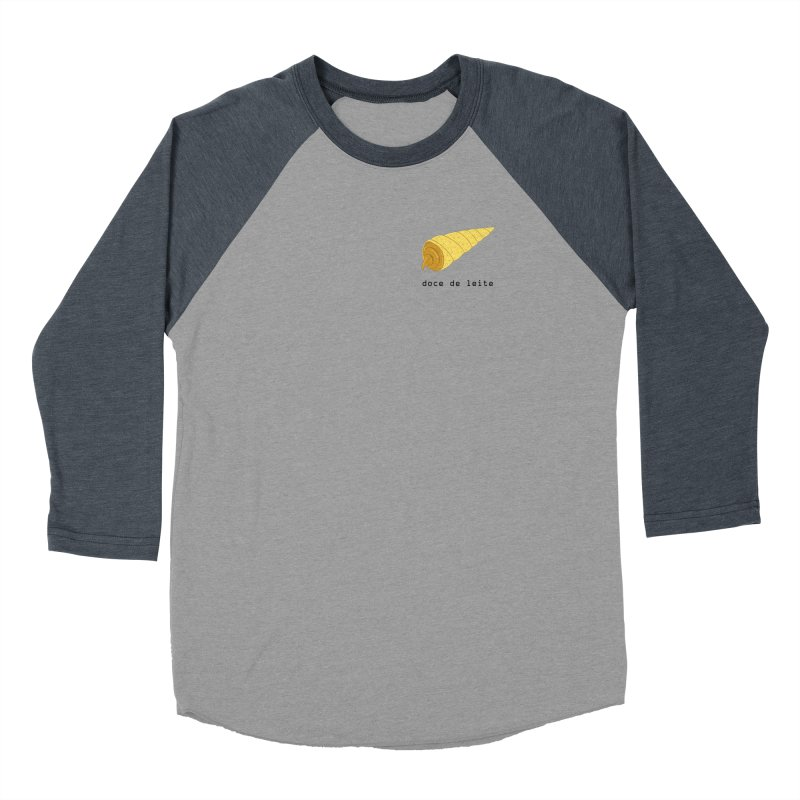 Doce de leite - Brazilian snack (pocket) Women's Baseball Triblend Longsleeve T-Shirt by Hello Siyi