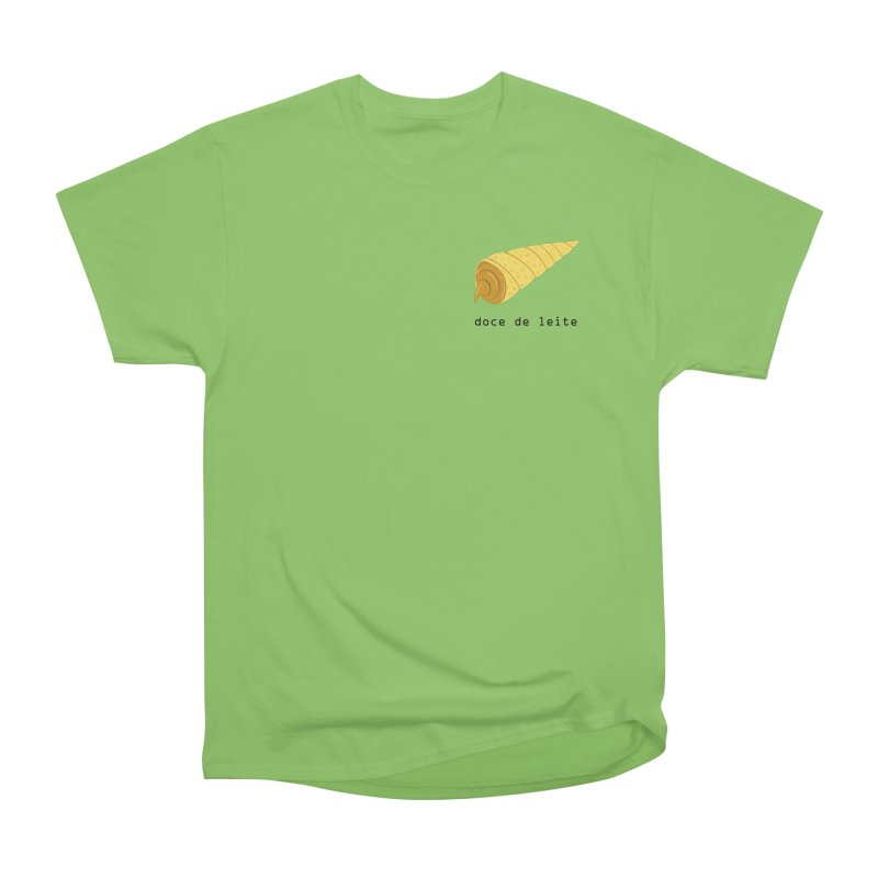 Doce de leite - Brazilian snack (pocket) Men's Heavyweight T-Shirt by Hello Siyi