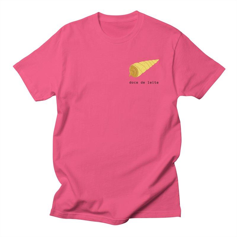 Doce de leite - Brazilian snack (pocket) in Men's Regular T-Shirt Fuchsia by Hello Siyi