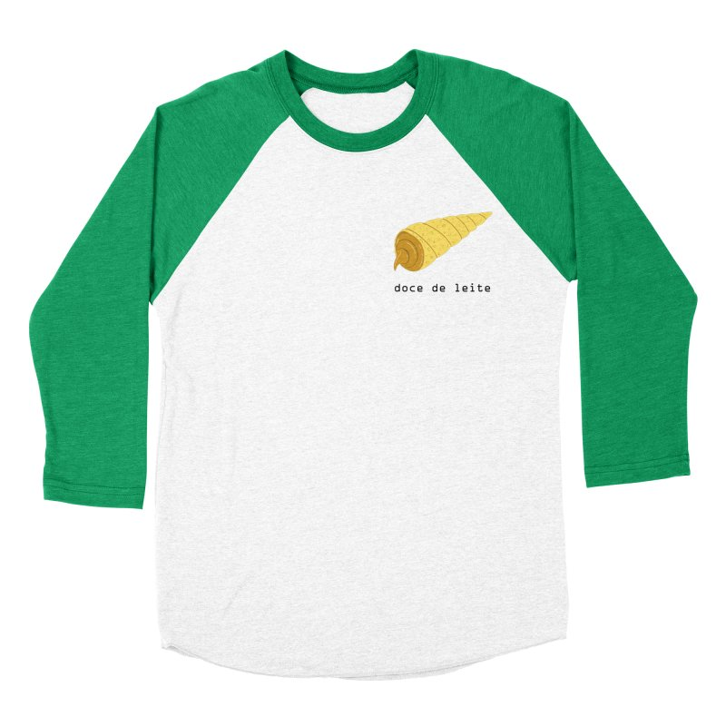 Doce de leite - Brazilian snack (pocket) Men's Baseball Triblend Longsleeve T-Shirt by Hello Siyi