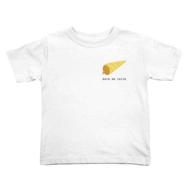 Doce de leite - Brazilian snack (pocket) Kids Toddler T-Shirt by Hello Siyi
