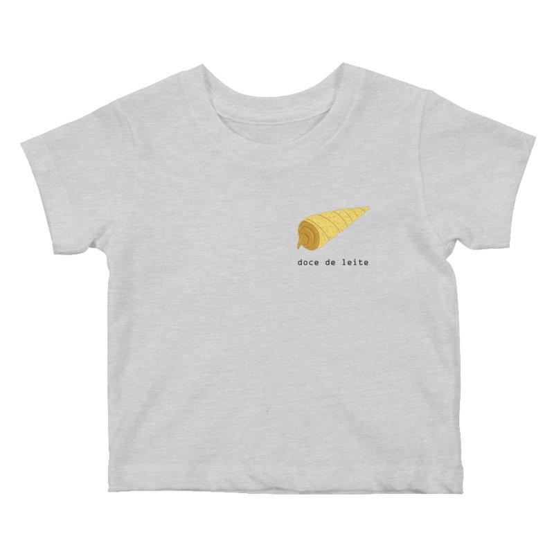 Doce de leite - Brazilian snack (pocket) Kids Baby T-Shirt by Hello Siyi