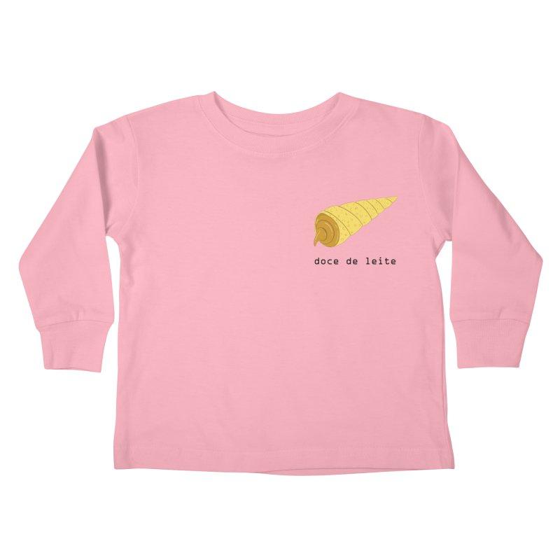 Doce de leite - Brazilian snack (pocket) Kids Toddler Longsleeve T-Shirt by Hello Siyi