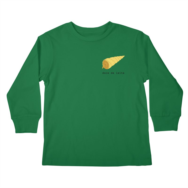 Doce de leite - Brazilian snack (pocket) Kids Longsleeve T-Shirt by Hello Siyi