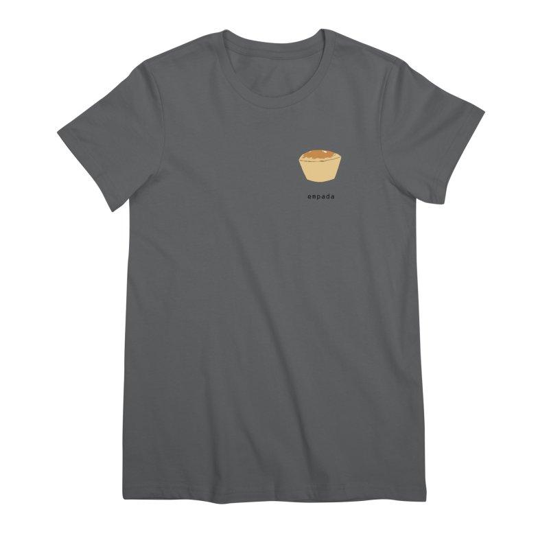 Empada - Brazilian snack (pocket) Women's Premium T-Shirt by Hello Siyi