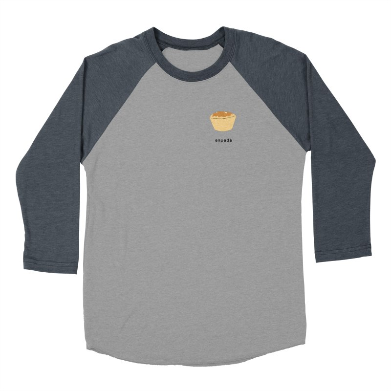 Empada - Brazilian snack (pocket) Women's Baseball Triblend Longsleeve T-Shirt by Hello Siyi