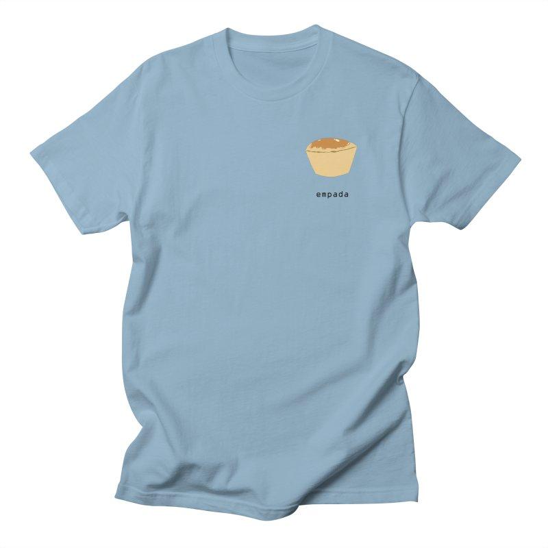 Empada - Brazilian snack (pocket) in Men's Regular T-Shirt Light Blue by Hello Siyi