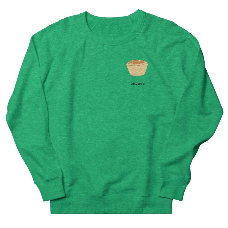 Empada - Brazilian snack (pocket) Men's French Terry Sweatshirt by Hello Siyi