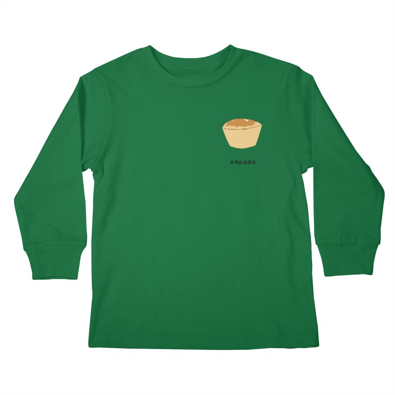 Empada - Brazilian snack (pocket) Kids Longsleeve T-Shirt by Hello Siyi