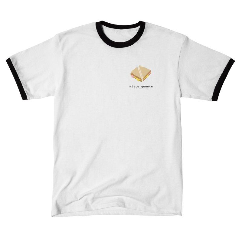 Misto quente - Brazilian snack (pocket) Men's T-Shirt by Hello Siyi