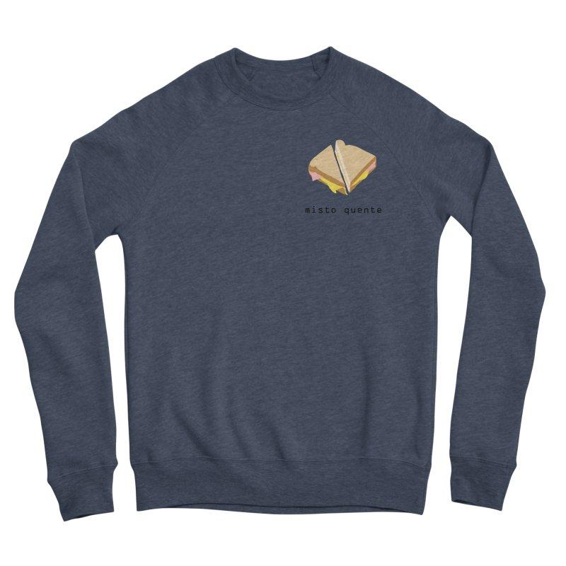 Misto quente - Brazilian snack (pocket) Women's Sponge Fleece Sweatshirt by Hello Siyi