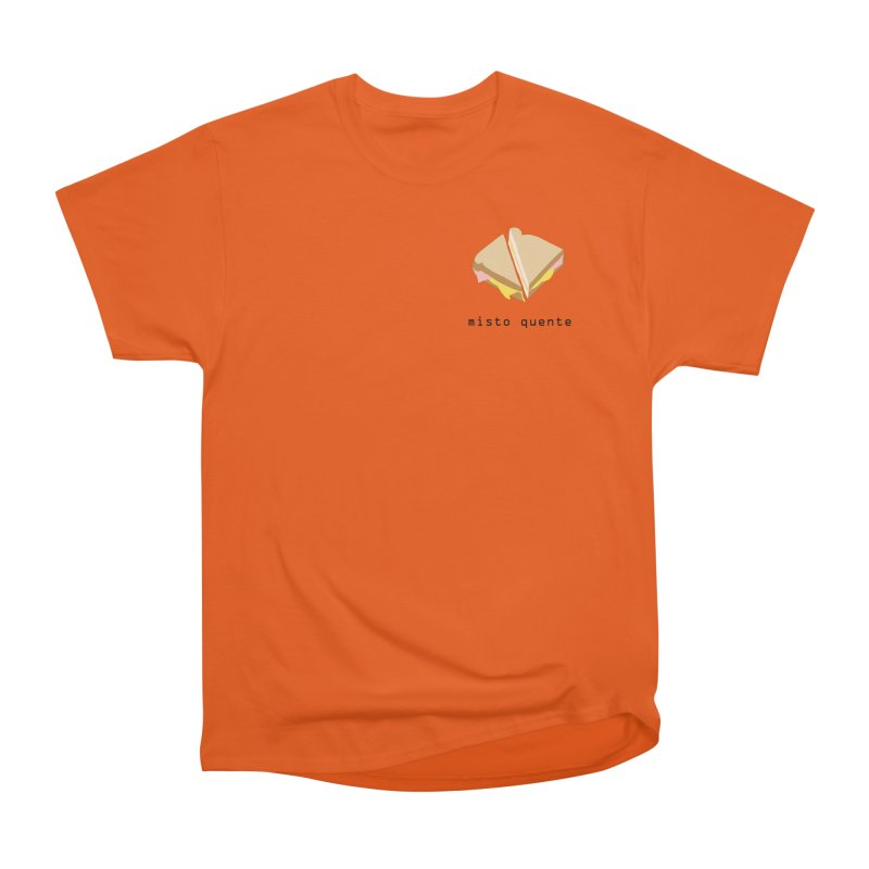 Misto quente - Brazilian snack (pocket) Men's Heavyweight T-Shirt by Hello Siyi