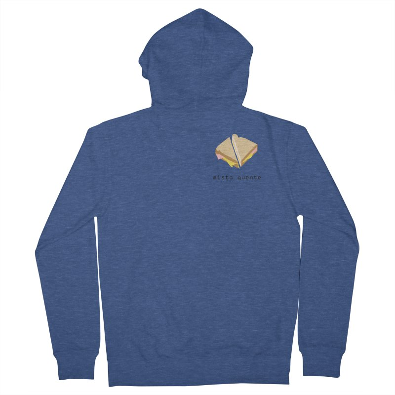 Misto quente - Brazilian snack (pocket) Women's French Terry Zip-Up Hoody by Hello Siyi