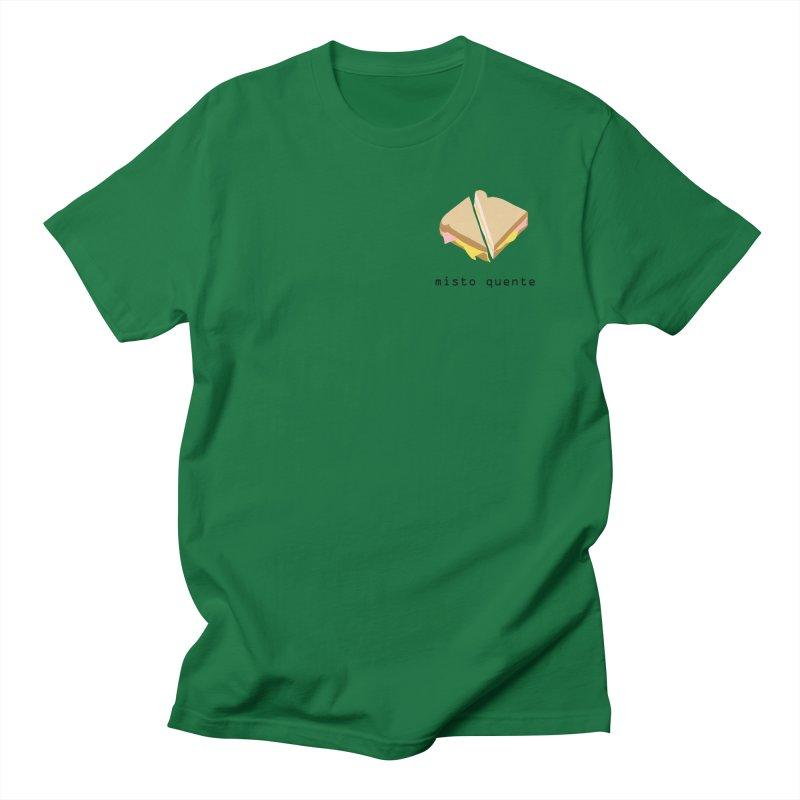 Misto quente - Brazilian snack (pocket) Women's Regular Unisex T-Shirt by Hello Siyi