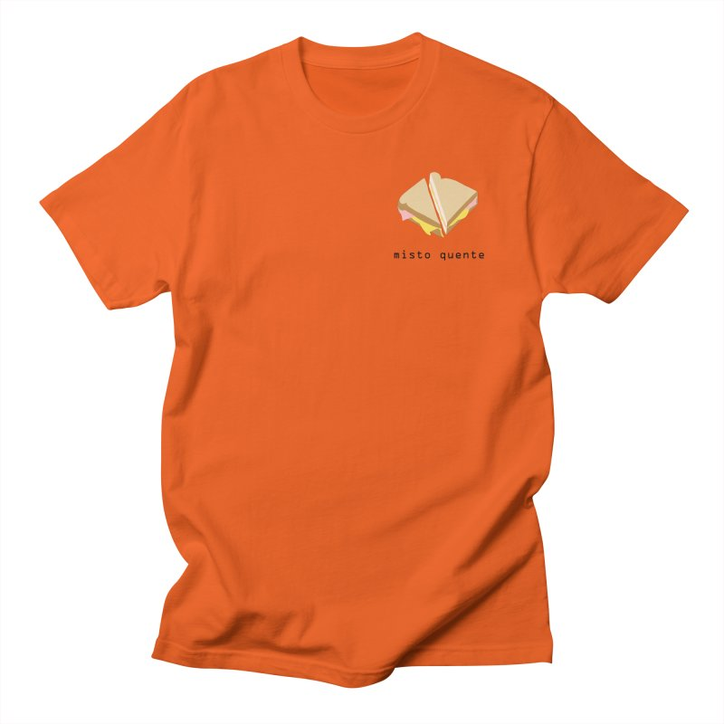 Misto quente - Brazilian snack (pocket) Men's Regular T-Shirt by Hello Siyi