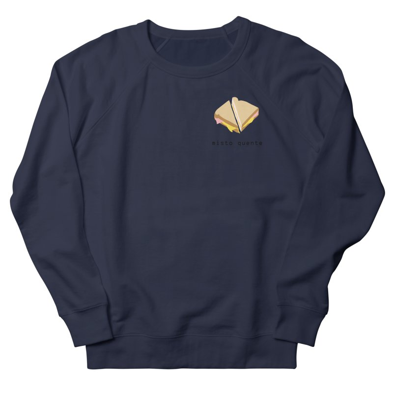 Misto quente - Brazilian snack (pocket) Men's French Terry Sweatshirt by Hello Siyi