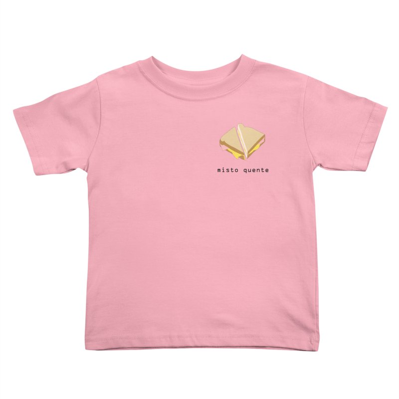 Misto quente - Brazilian snack (pocket) Kids Toddler T-Shirt by Hello Siyi